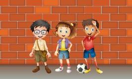 男孩和女孩 免版税图库摄影