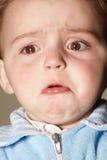 男孩哭泣 图库摄影