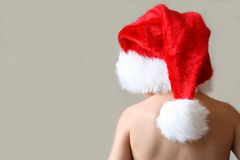 男孩圣诞节 免版税库存照片