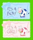 男孩女孩s 向量例证