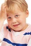 男孩学龄前儿童 免版税库存照片
