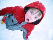 男孩寒冷 免版税图库摄影
