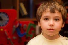 男孩常设玩具 免版税库存照片