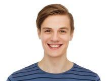 男孩微笑少年 免版税库存照片