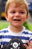 男孩微笑的一点 图库摄影
