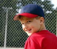 男孩微笑 免版税库存照片