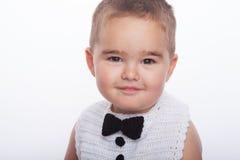 男孩微笑 免版税图库摄影