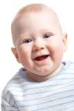 男孩快乐的纵向 免版税图库摄影