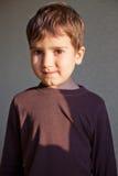 男孩快乐的年轻人 免版税库存照片