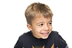 男孩愉快的年轻人 免版税库存图片