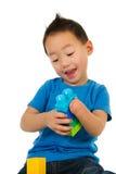 男孩汉语 图库摄影