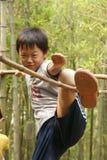 男孩汉语 免版税库存照片