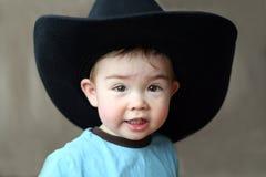 男孩牛仔帽 免版税库存图片