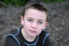 男孩白种人微笑的年轻人 图库摄影