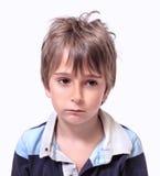 男孩的画象 免版税库存图片