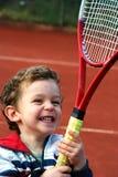 男孩网球 免版税图库摄影
