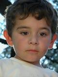 男孩老三年 免版税库存照片