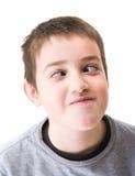 男孩老十年 免版税库存图片