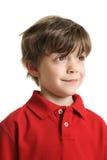 男孩聪明的一点 图库摄影