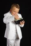 男孩英俊的年轻人 免版税库存图片