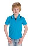 男孩英俊的年轻人 免版税库存照片