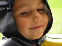男孩表达式 免版税库存照片