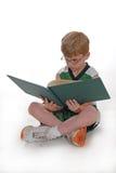男孩读取年轻人 库存照片