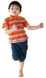 男孩跳舞 库存照片