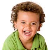 男孩逗人喜爱的年轻人 免版税库存图片
