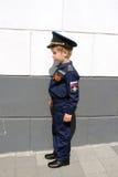 男孩飞行员 免版税库存图片