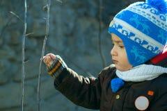 男孩结构 免版税图库摄影