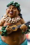 男孩hula 免版税库存照片