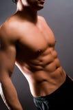 男性健身设计 库存图片
