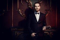 男性典雅的时尚 免版税库存图片