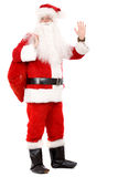 男性圣诞老人身分 免版税库存照片