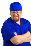 男性护士 库存照片