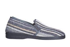 男性拖鞋 免版税库存照片