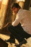 男性模型年轻人 免版税库存照片