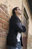 男性模型年轻人 免版税库存图片