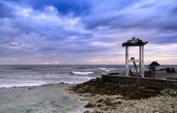 男性海浪点或Raalhugandu 库存图片