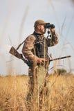 男性猎人 免版税图库摄影