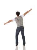男性舞蹈演员选拔轻拍 免版税库存图片