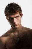 男性裸体 免版税库存照片
