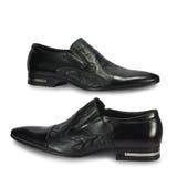 男性鞋子 库存图片