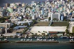 男性马尔代夫 免版税库存照片