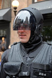 男服作为机器人 免版税库存照片