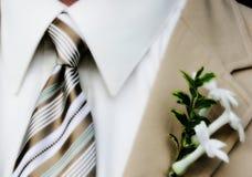 男服婚礼 免版税库存图片