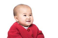 男婴子项他查出的纵向减速火箭小微笑的坦克小孩顶层玩具卡车空白木 免版税库存图片