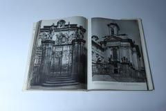 画书的布拉格卡雷尔Plicka著 AntonÃn Dvořà ¡ k博物馆 库存图片
