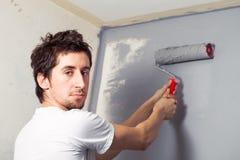 画家年轻人 免版税库存图片